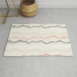 Retro Dotted Pattern 02 Rug