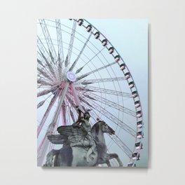Paris Street Style No. 5 Metal Print