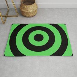 Target (Black & Green Pattern) Rug