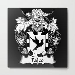 falco coatofarms Metal Print