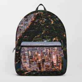 Central Park, New York - Twilight Backpack