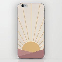 Morning Light - Pink iPhone Skin