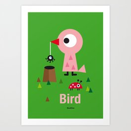 Mr. Bird Art Print
