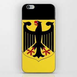 Germany flag emblem iPhone Skin