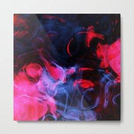 Abstract smoke swirls Metal Print