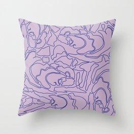 Pastel Pattern II Throw Pillow
