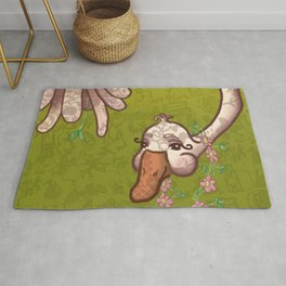 """The Neighborhood Mother Goose"" Rug"