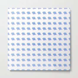 8Bit Jellies Metal Print