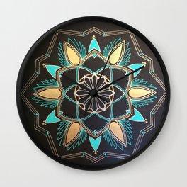 Kateri -Mandala Wall Clock