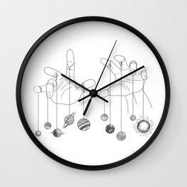 Solar System II Wall Clock