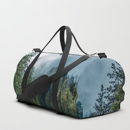 Sequoia Foggy Forest Duffle Bag
