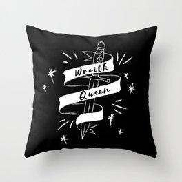 Wraith Queen Throw Pillow
