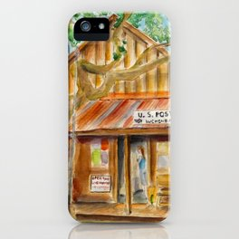 Luckenbach, Texas iPhone Case