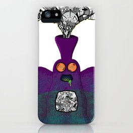 Another Planet Purple iPhone Case