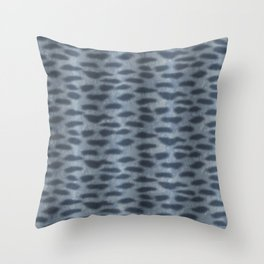 Tiger Shark Skin Throw Pillow