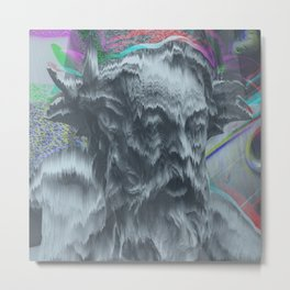 You only want death Metal Print