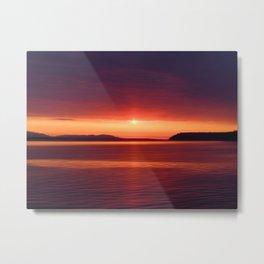 Colorful Sunset Metal Print