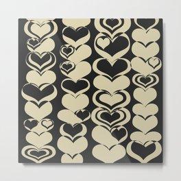 HEARTS TTY N6 Metal Print
