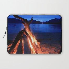 Beach Fire Burning, Kepler Track Laptop Sleeve