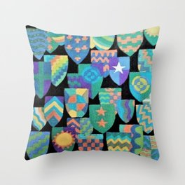 Shields of Dreams 2 Throw Pillow