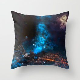 Wicked Tales Throw Pillow