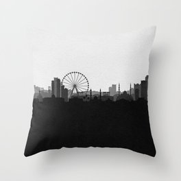 City Skylines: Sharjah Throw Pillow