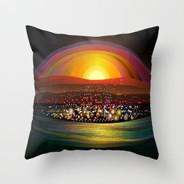 Harbor Square Throw Pillow