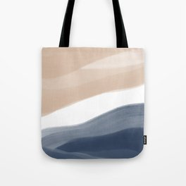 Abstract Watercolor Beach Tote Bag