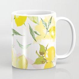 Watercolor lemons Coffee Mug