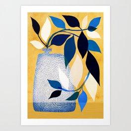 Ivy and Sunshine Art Print