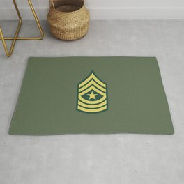 Sergeant Major (OD Green) Rug
