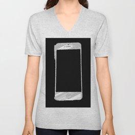 iPhone 5 Wolfram Rule 126 Part 2 Unisex V-Neck