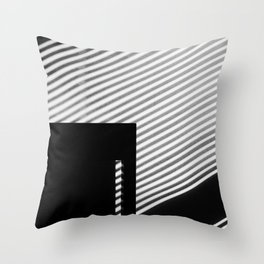 Sun Stripes Throw Pillow