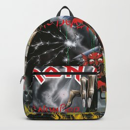 The Number of the Beast - Iron - Remastered Edition - Maiden Backpack