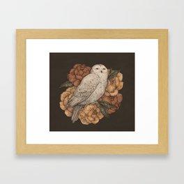 Snowy Owl Gerahmter Kunstdruck