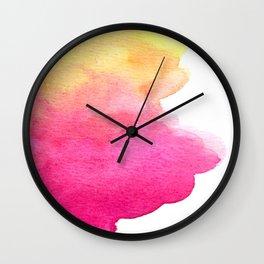Kalahari sunset Wall Clock