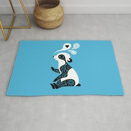 Panda 3 Rug