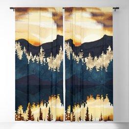 Fall Sunset Blackout Curtain