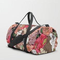 Because English Bulldog Duffle Bag