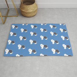 Old English Sheepdog Rug