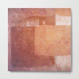 Morrocan colors - Abstract Metal Print