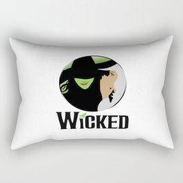 broadway musical wicked Rectangular Pillow