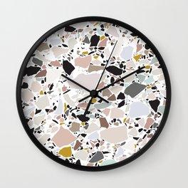 Terrazzo Pattern II. Wall Clock