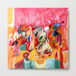 Arshile Gorky Scent of Apricots Metal Print