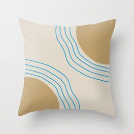 DREAMS OF SAND Throw Pillow