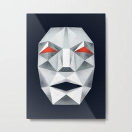 Star Fox Andross Lylat Lowpoly Laugher Metal Print