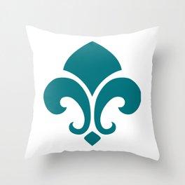 Green Garnish Throw Pillow
