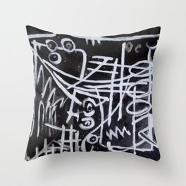 Count call Throw Pillow