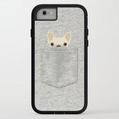 Pocket French Bulldog - Cream iPhone 7 Adventure Case