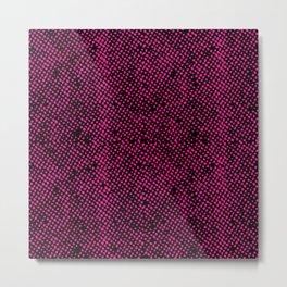Simple Promise Neon Pink 0316 Metal Print